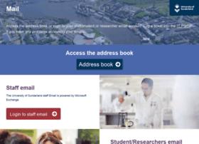 mail.sunderland.ac.uk