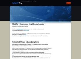 mail2tor.com