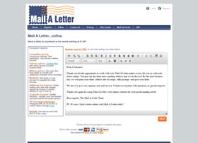 mailaletter.com