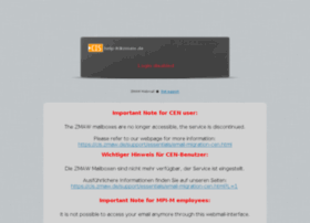 mailer.zmaw.de