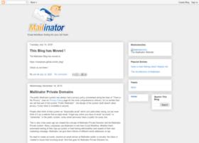 mailinator.blogspot.in