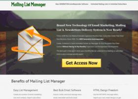 mailing-list-manager.com