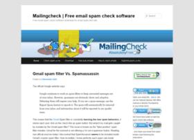 mailingcheck.com