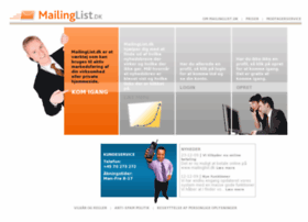 mailinglist.dk