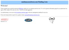 mailman.modwest.com