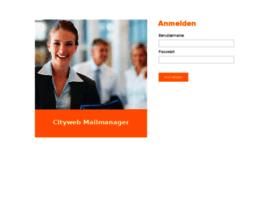mailmanager.cityweb.de