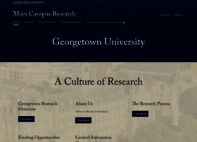 maincampusresearch.georgetown.edu