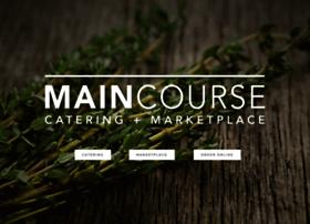 maincoursecatering.com