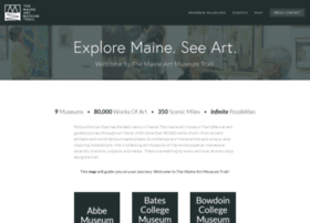 maineartmuseums.org