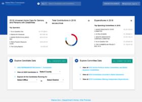 mainecampaignfinance.com