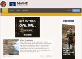 mainehuntingtoday.com