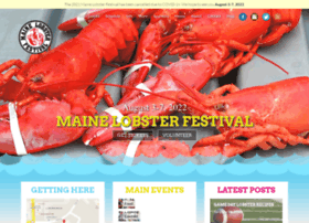 mainelobsterfestival.com