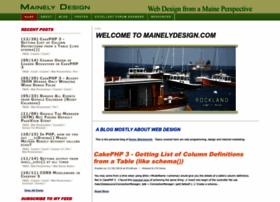 mainelydesign.com