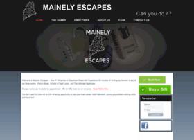 mainelyescapes.com