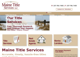 mainetitleservices.businesscatalyst.com