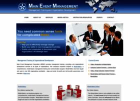 maineventmanagement.com