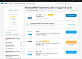 mainlinemenswear.bluepromocode.com