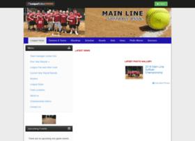 mainlinesoftball.com