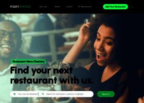 mainmenus.com