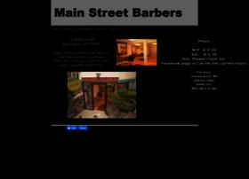 mainstreetbarbers.net