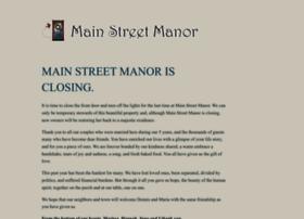 mainstreetmanor.com