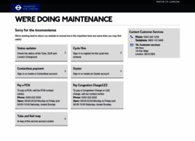 maintenance.tfl.gov.uk