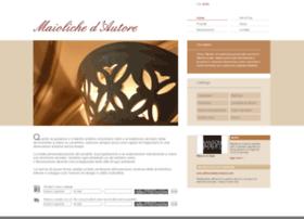 maiolichedautore.com