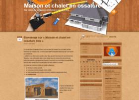 maison-chalet-ossature-bois.com