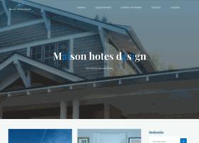 maison-hotes-design.com