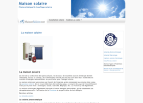maison-solaire.com