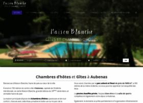 maisonblanche-ardeche.com