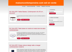 maisoncontemporaine.com