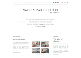 maisonparticuliere.be