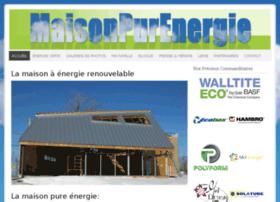 maisonpurenergie.com