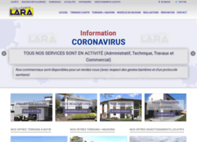 maisons-lara.com