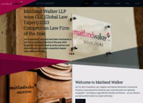 maitlandwalker.com