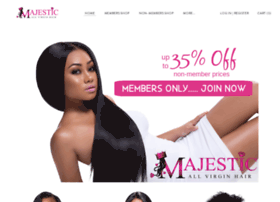 majesticallvirginhair.com