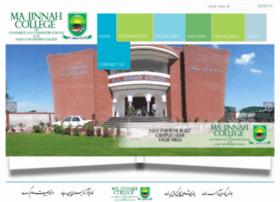 majinnah.edu.pk