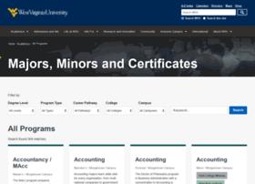majors.wvu.edu