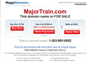majortrain.com