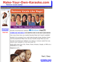 make-your-own-karaoke.com