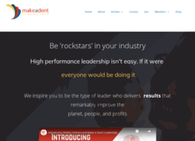 makeadentleadership.com