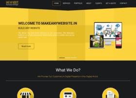 makeanywebsite.in