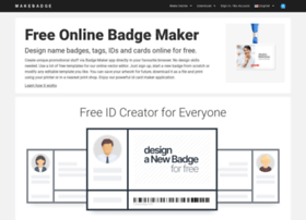 makebadge.com