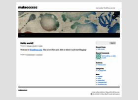 makecccccc.wordpress.com