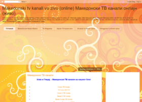 makedonskatelevizija.blogspot.fr