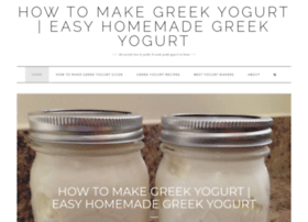 makegreekyogurt.com