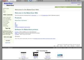 makergear.wikidot.com