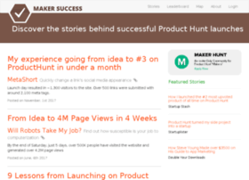 makersuccess.com