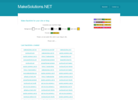 makesolutions.net